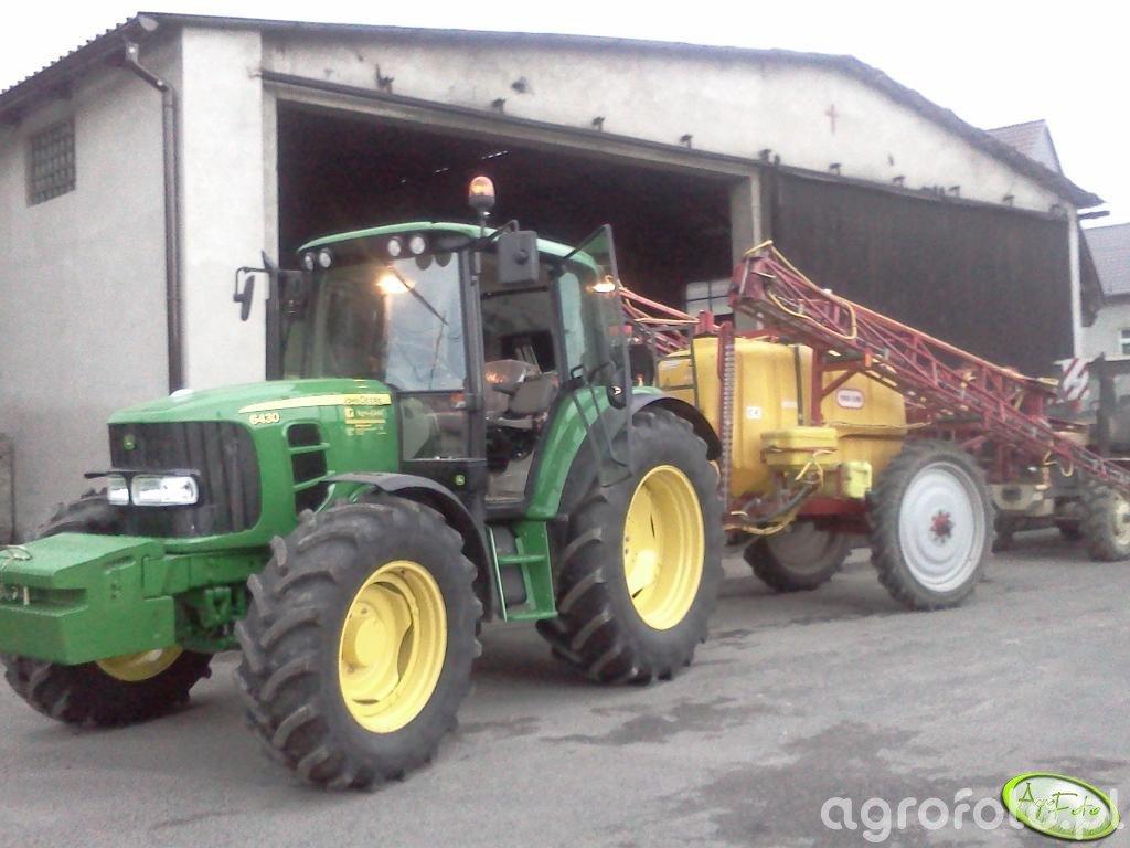 John Deere 6430 + Tad-Len 2500 l