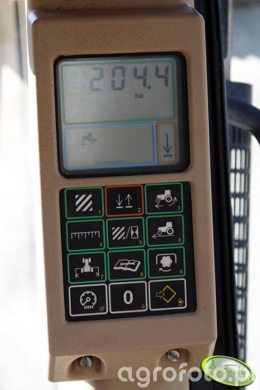 John Deere 6810 - monitor wydajności