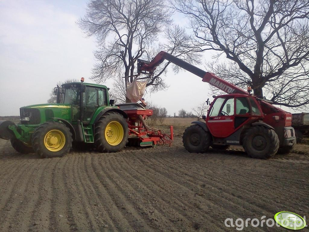 John Deere 6920 + Accord