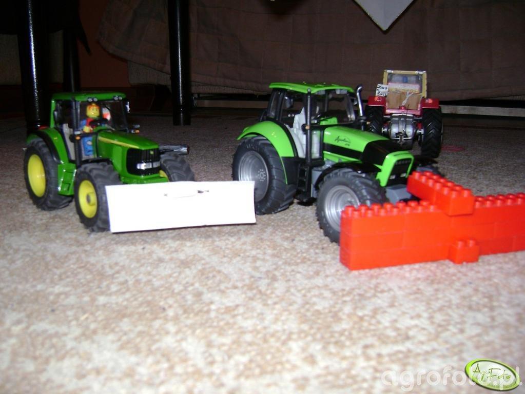 John Deere 6920S i Deutz-Fahr Agrotron 210