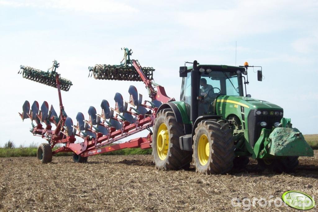 John Deere 8530 & Kverneland PW100