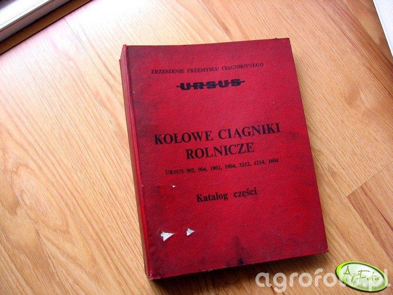 Katalog części Ursus 902, 904, 1002, 1004, 1212, 1214, 1604