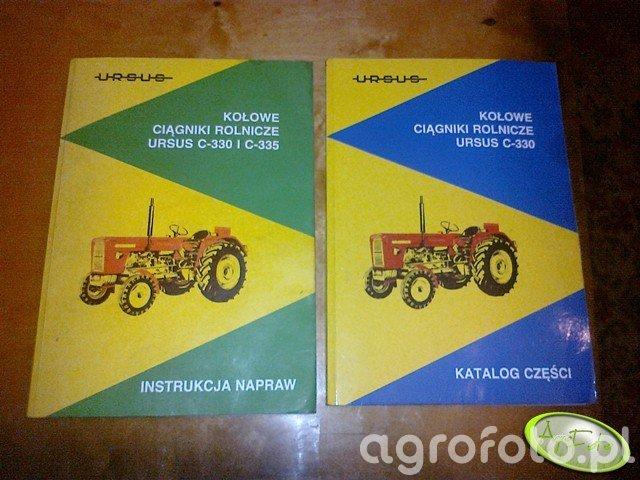 Katalog i instrukcja naprawy Ursus C-330