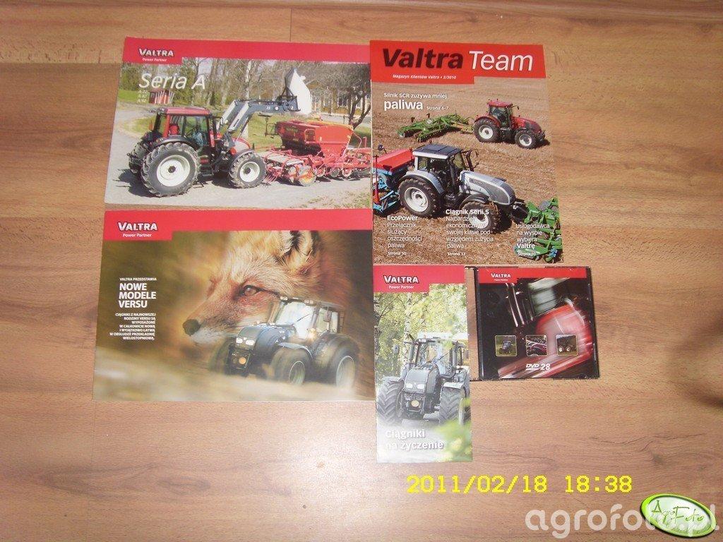 Katalogi i plyta VALTRA