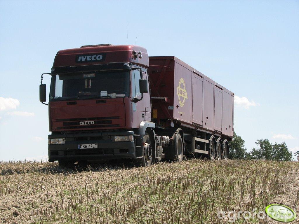 Koszenie rzepaku 15.07 transport wynajety