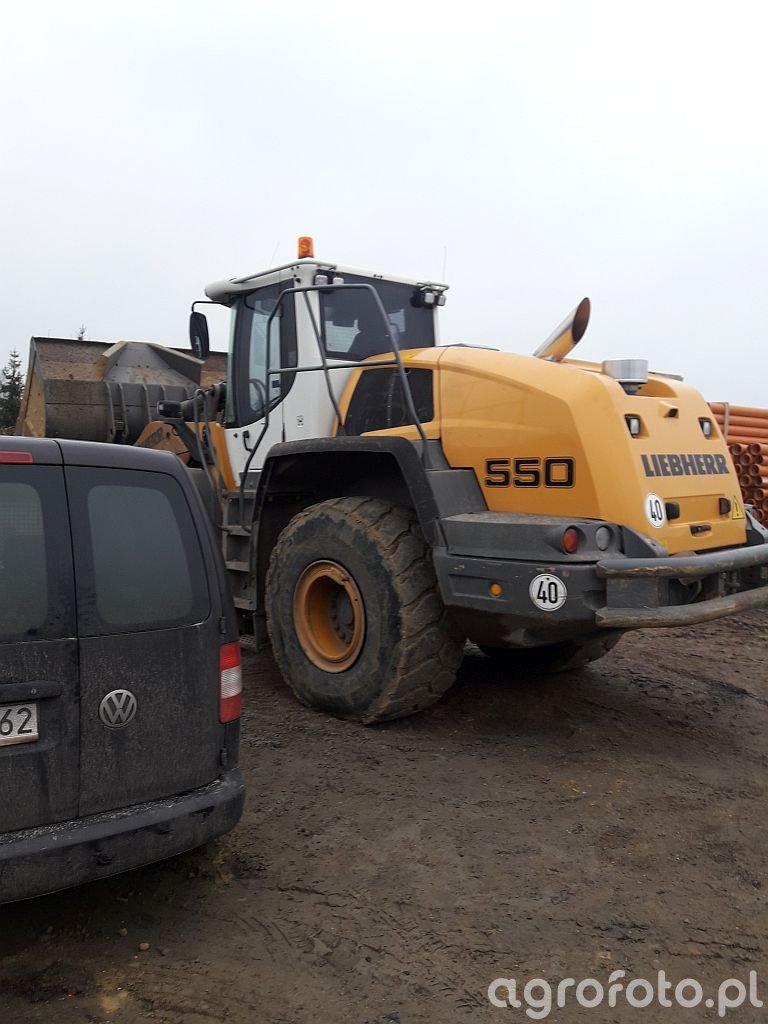 Liebherr 550 - wyłączenie DPF