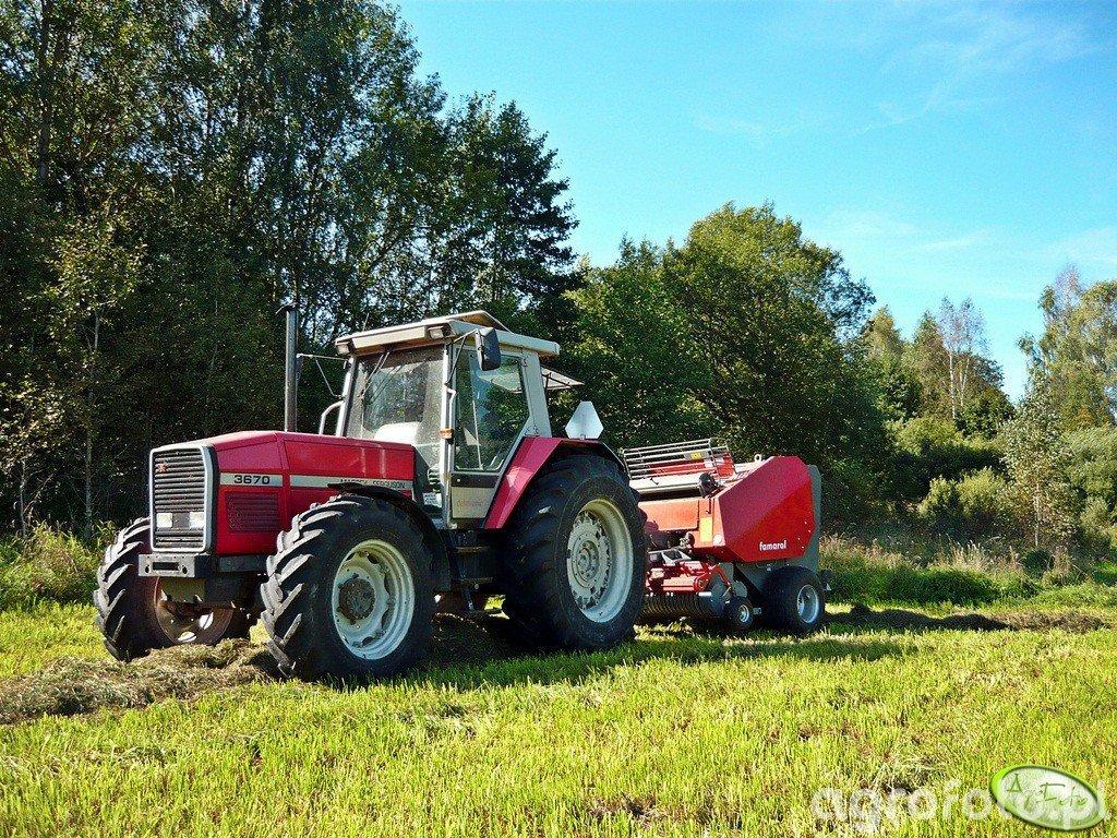 Massey Ferguson 3670 & Unia Famarol 1.8Vd