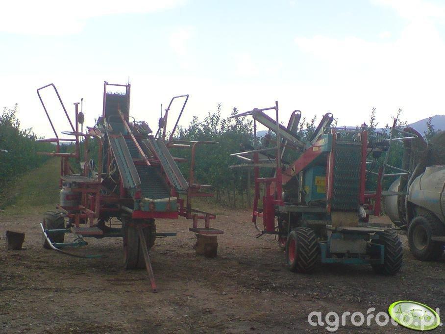 Maszyna z której zbiera się owoce.