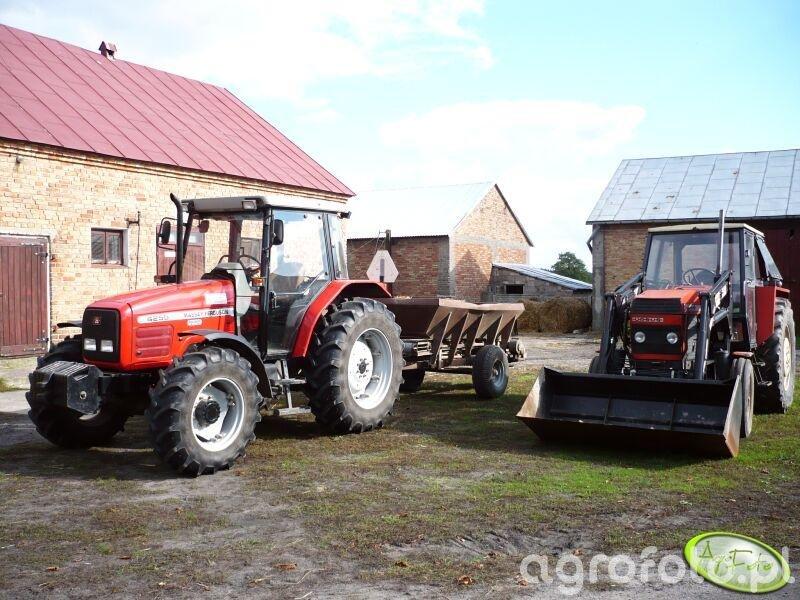 MF 4255 & Ursus 912