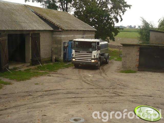 Mleczarka Scania 94G/220
