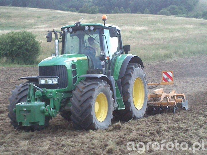 John Deere 7530 Premium + Staltech Brona U 35