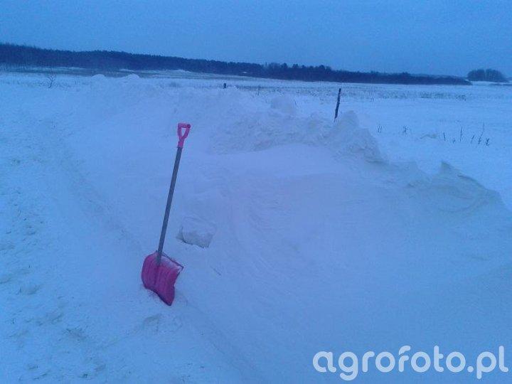 Zima w gminie grunwald
