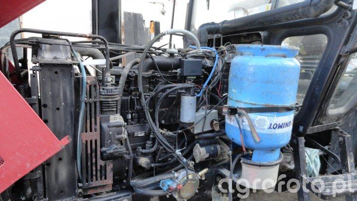 MTZ z instalacją gazową