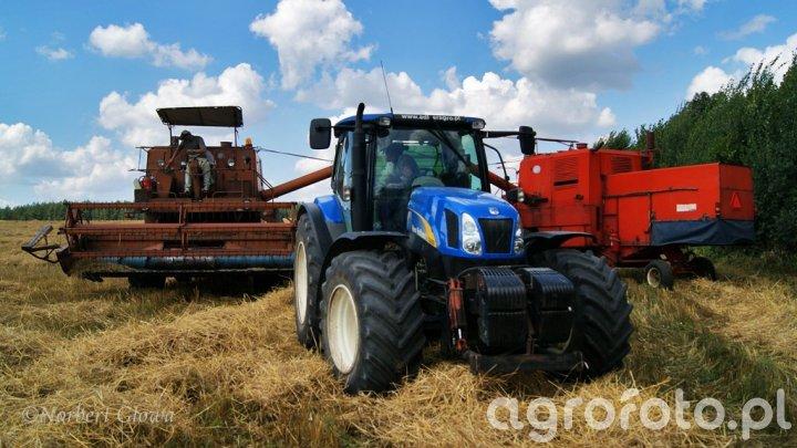 NH T6050 & Bizon Z056 x2