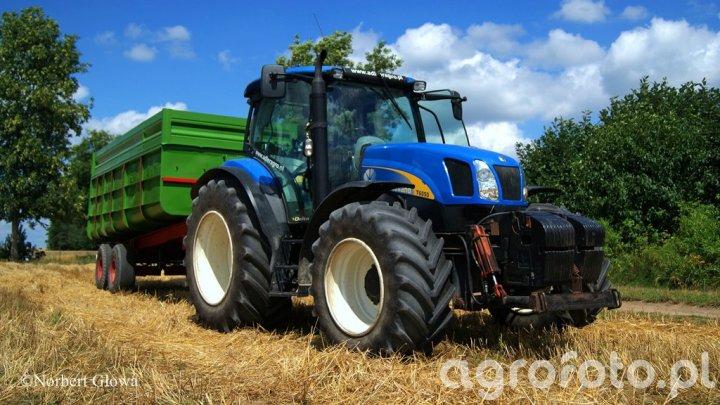 New Holland T6050 + przyczepa