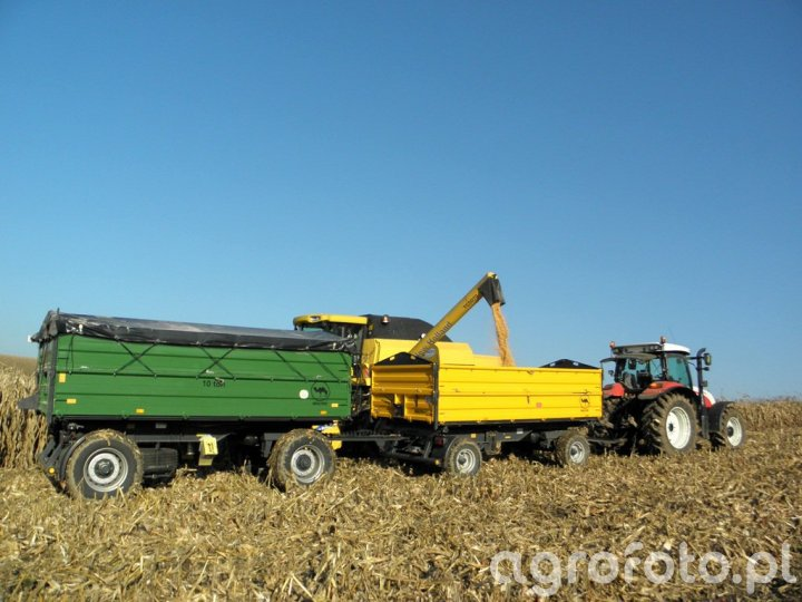 Steyr Profi 6140 + Wielton PRS-2/W8 + Wielton PRS-2/W10