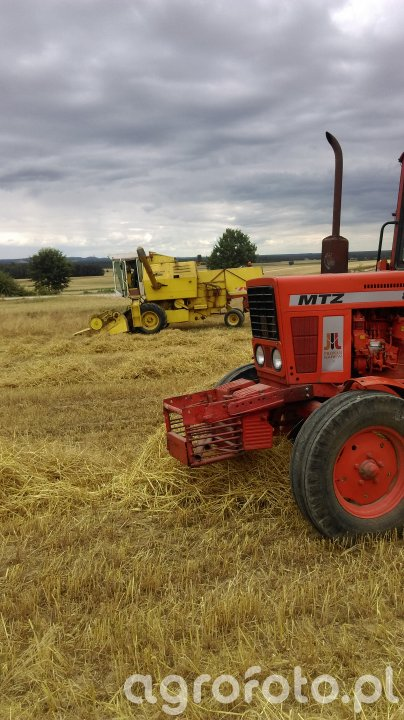 Mtz 80 & New holand 135