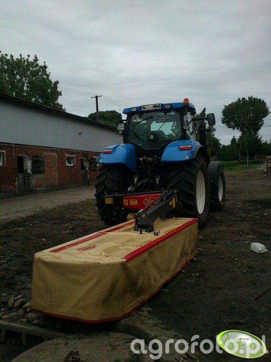 New Holland T6080 PC i Vicon EXTRA 432H