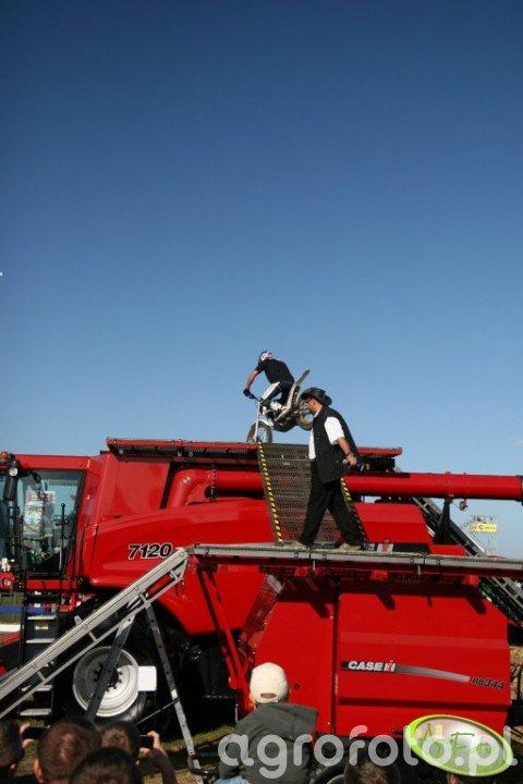 Agro Show 2011 - atrakcje Case