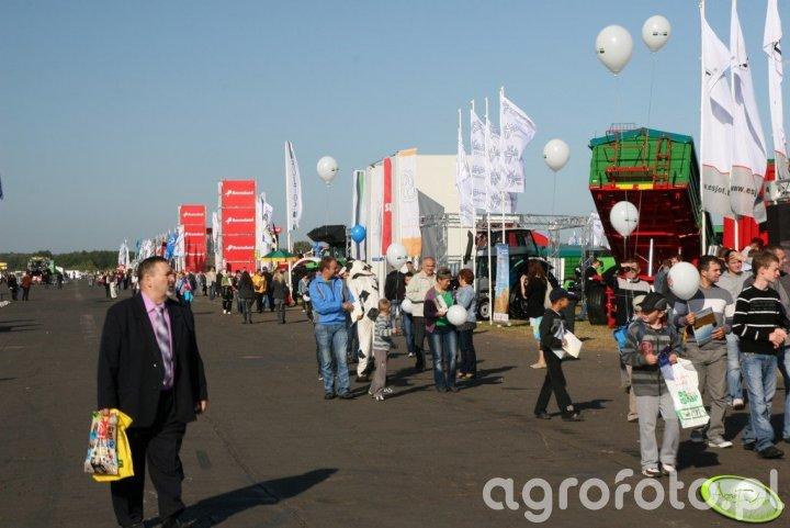 Agro Show 2011 - zwiedzający