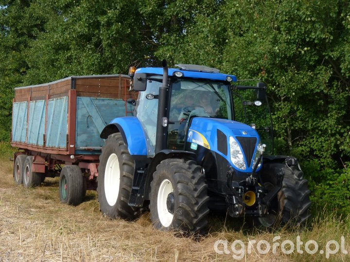 New Holland T6080 i Kaessbohrer