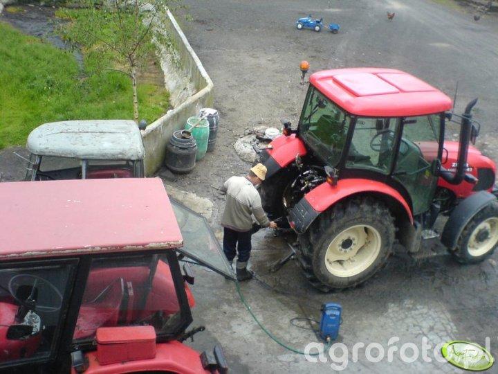 Mycie Ciągników