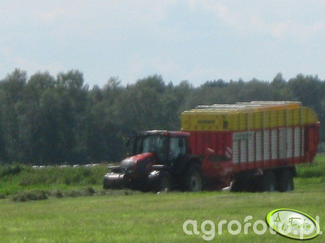 Pottinger Jumbo + Valtra t 191