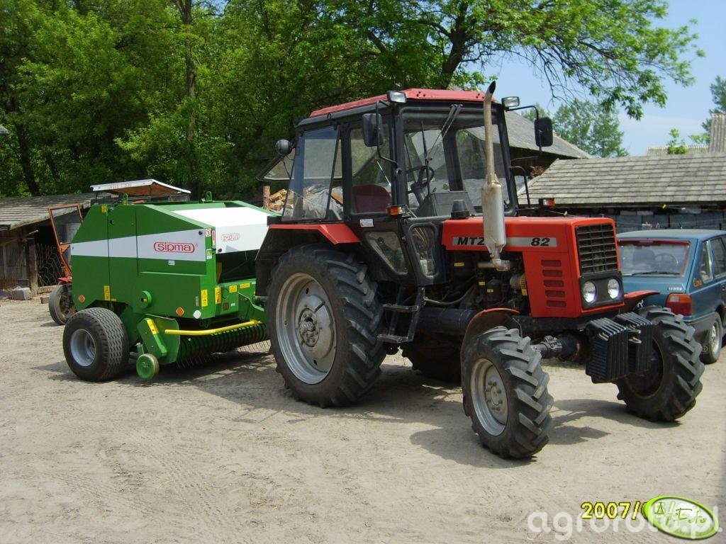 MTZ 82 + Sipma Farma II