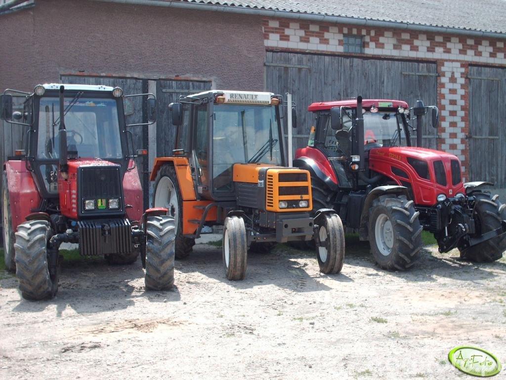 MTZ 82 TS & Renault & Pronar