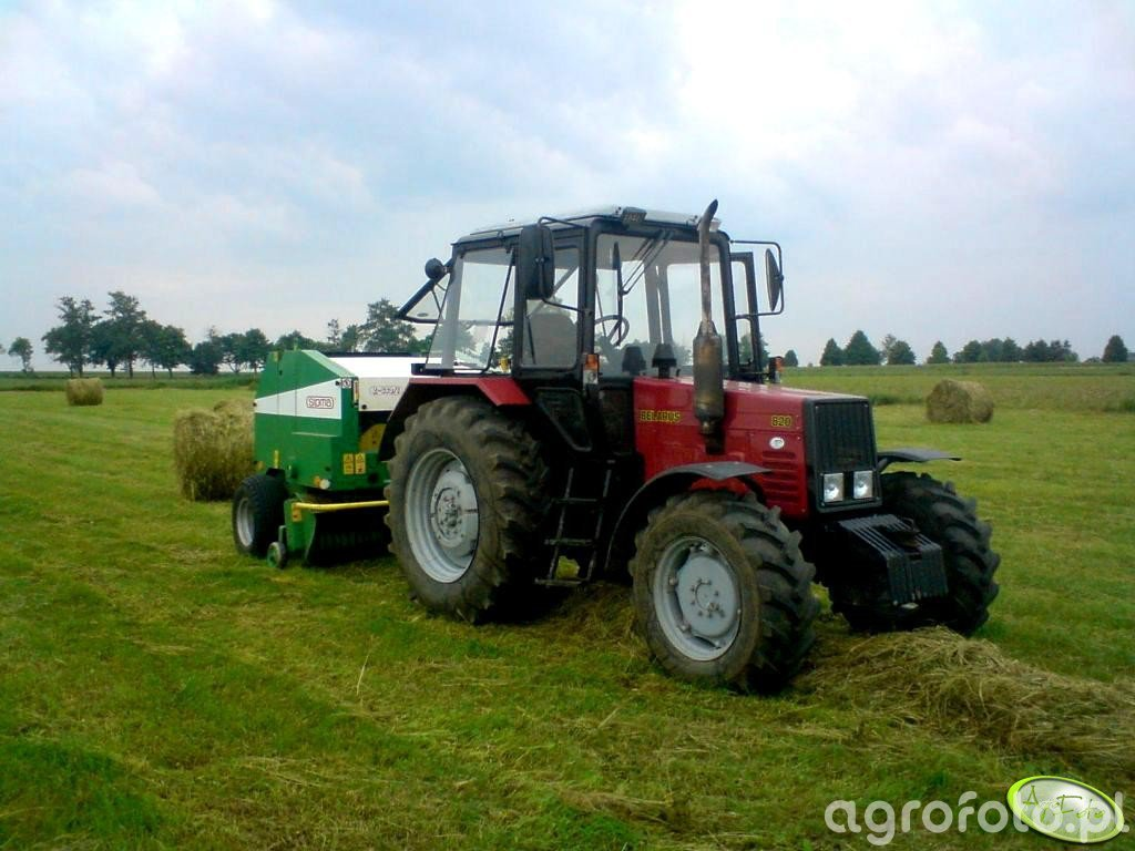 MTZ 820 + Sipma Z569/1 Farma