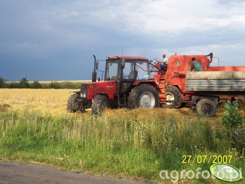 MTZ Belarus 952 + D47