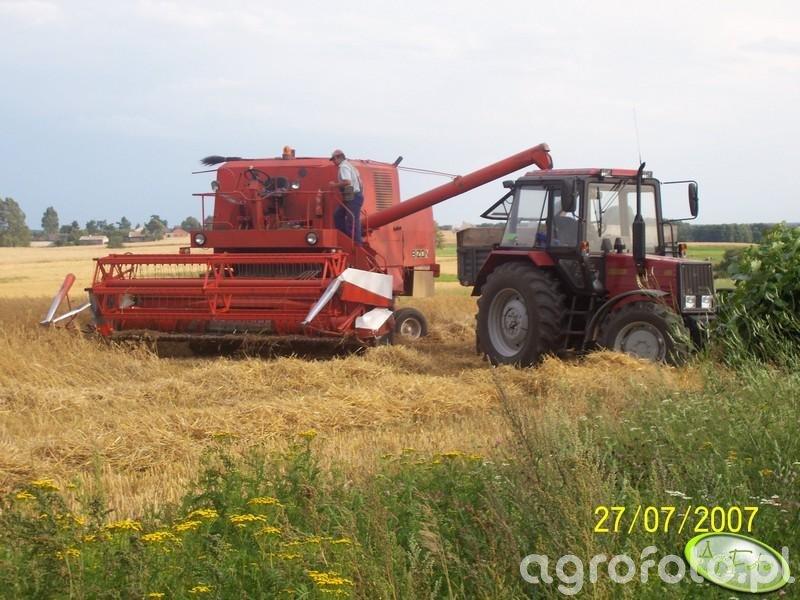 MTZ Belarus 952 i Bizon