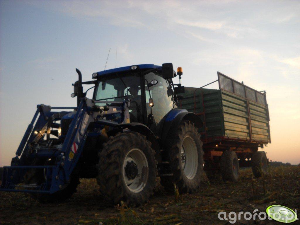 New Holand T6020 Plus & Metal Tech DB 14 000