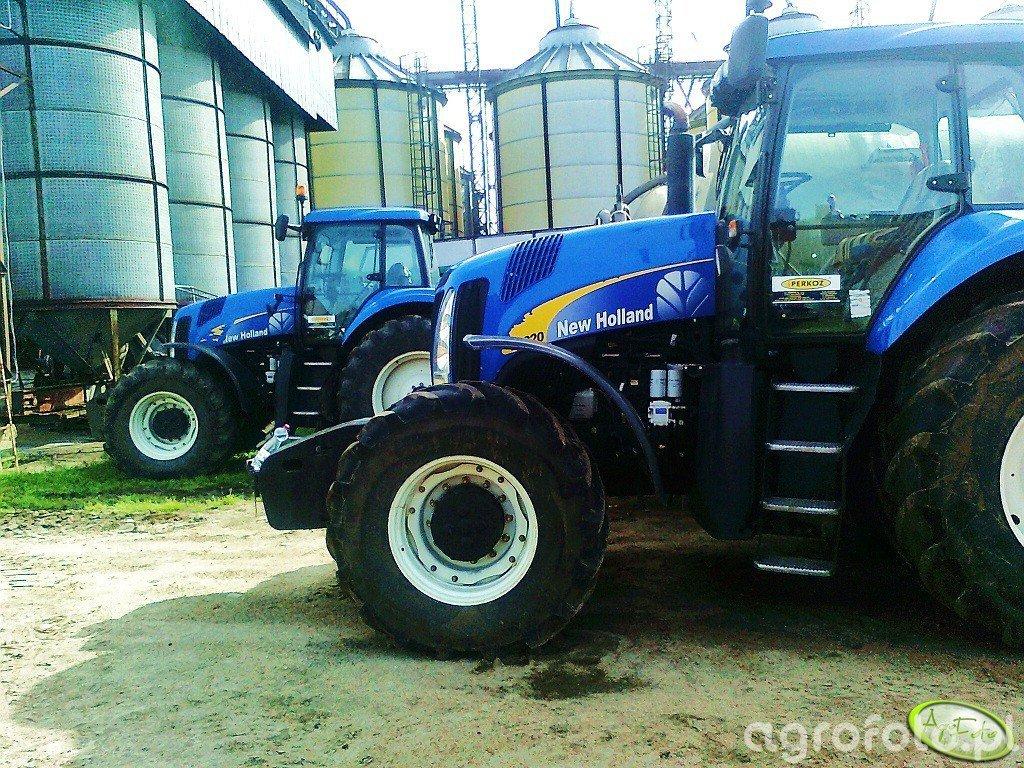 New Holland 8040 & 8020