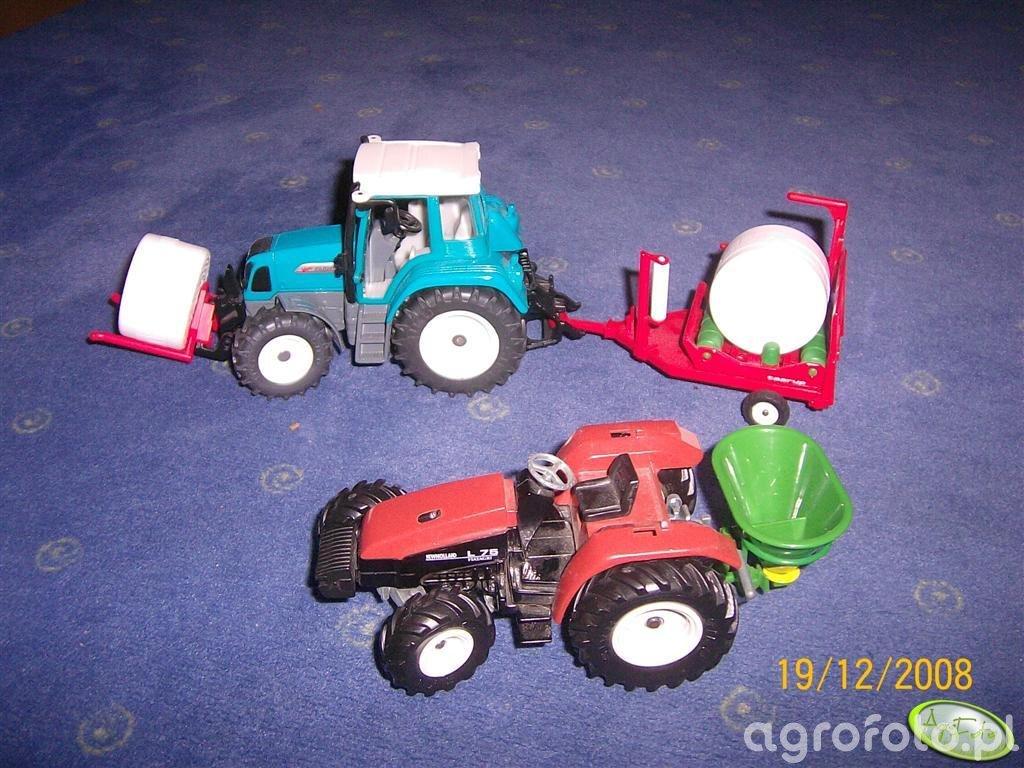 New Holland L75 i Fendt Farmer 412 vario