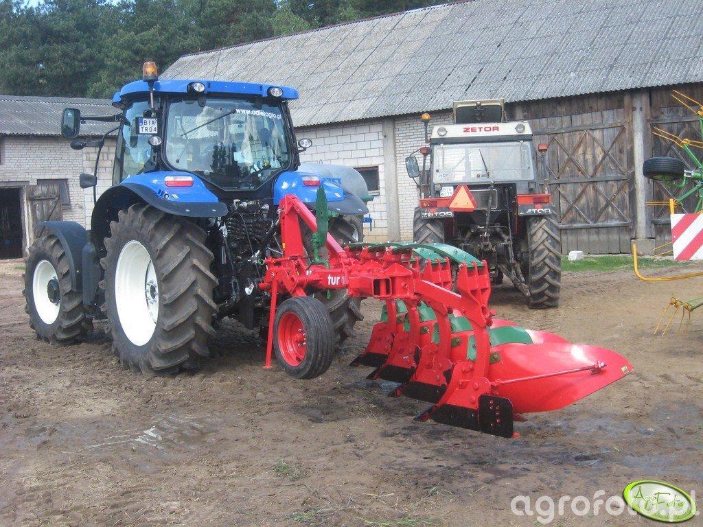 New Holland T 6030 PLUS & Unia Tur 40