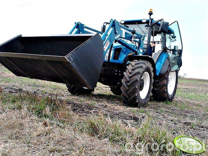 New Holland T5040 & Agromasz