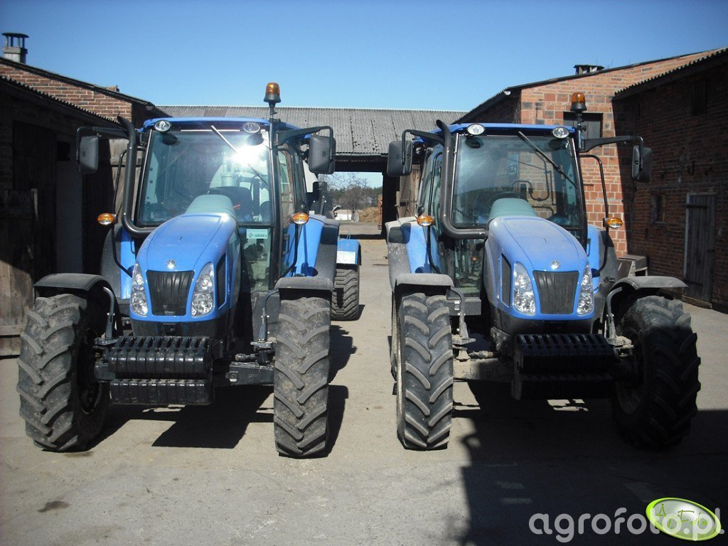 New Holland T5040 & T5050