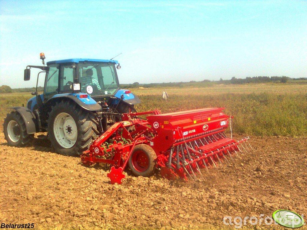 New Holland T5050 + agregat