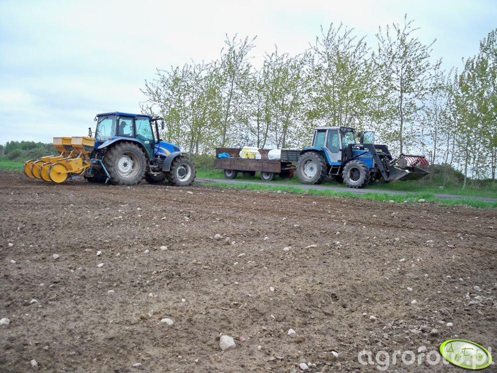 New Holland T5050 i Landini 8880