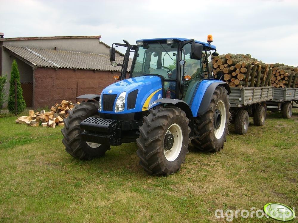 Obraz traktor New Holland T5050 id:72432 - Galeria rolnicza