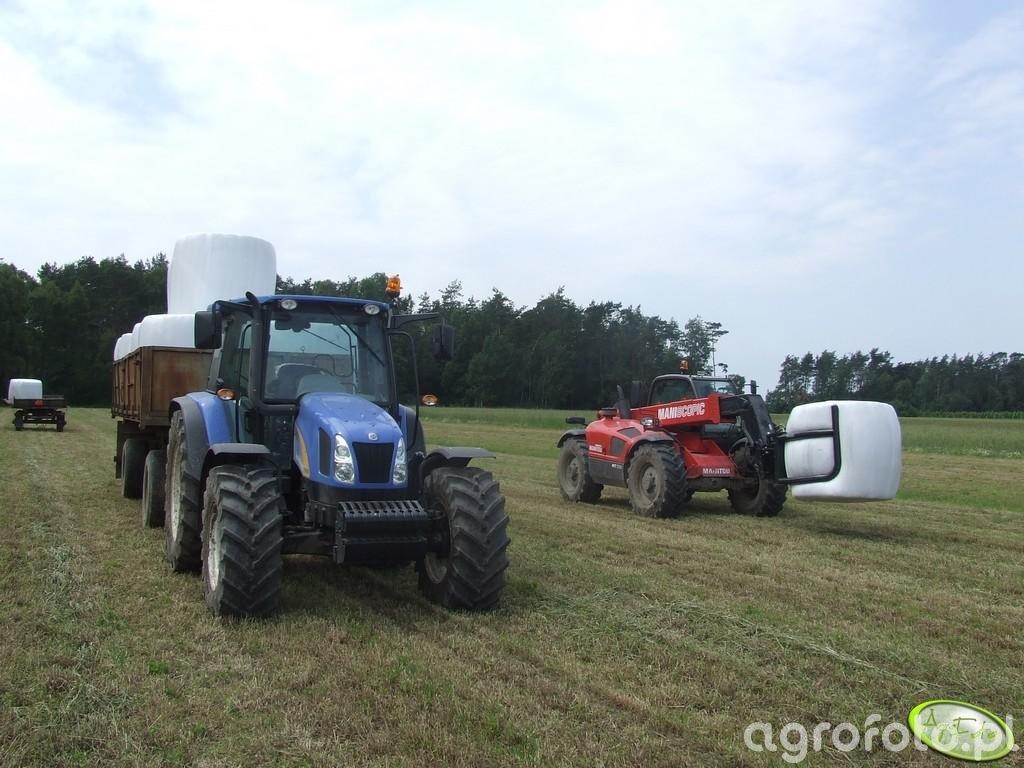 New Holland T5060 i Manitou