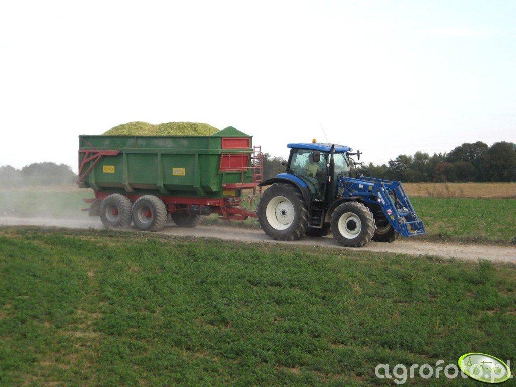 New Holland T6020 + MT TS 16000