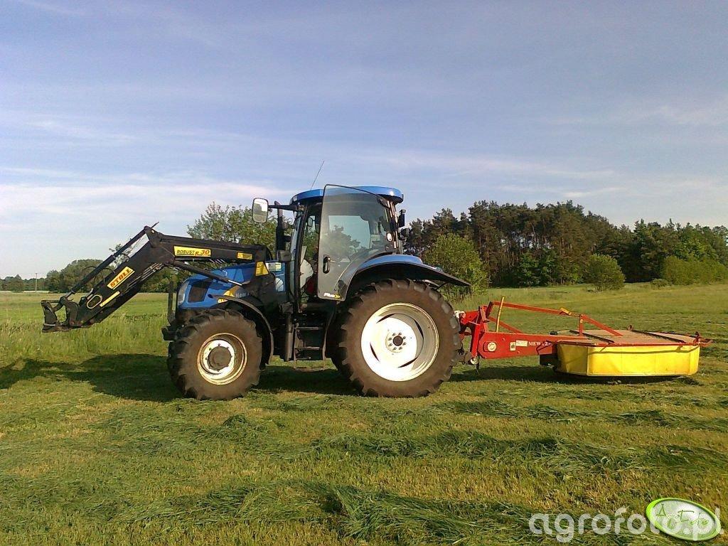 New Holland T6020 Plus + Mewa 2.10