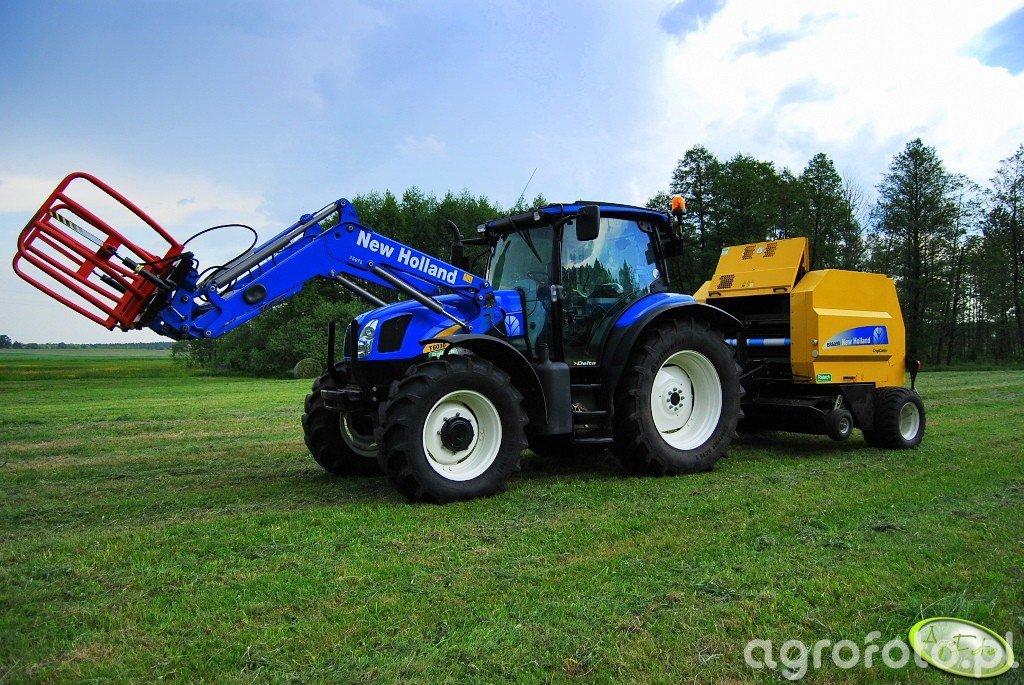 New Holland T6030 Delta + BR6090RC