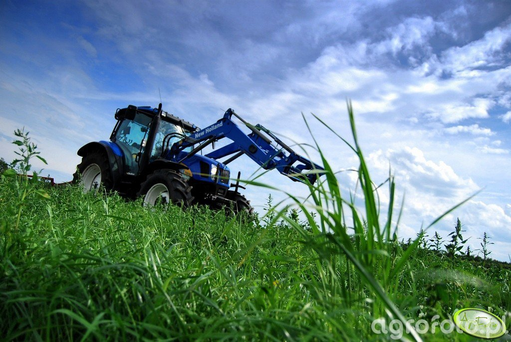 New Holland T6030 Delta + Stoll JF 250