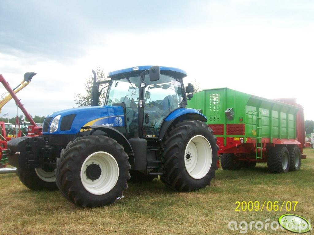 New Holland T6030 + UNIA tytan 13