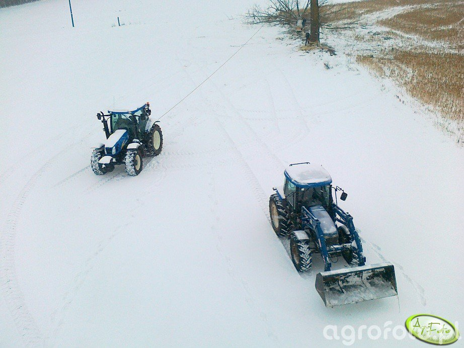 New Holland T6050 PLUS & New Holland TD80D