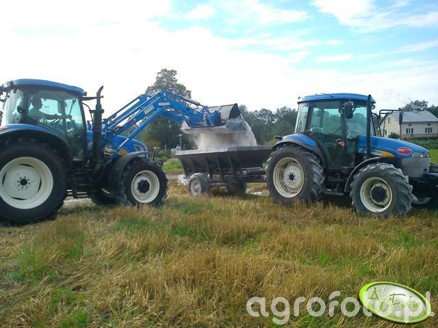 New Holland T6050 PLUS & TD 5030