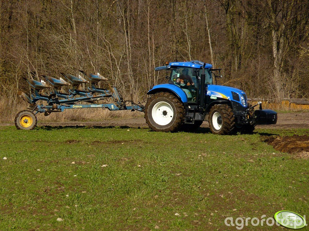 New Holland T6080 PC & Overum CVL 498H